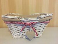 Lovely white basket
