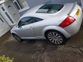 mk1 audi tt, quattro full leather, 225bhp, cd changer and much more.
