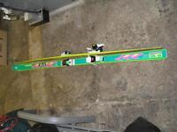 volkl P10 SLC like new with marker m48 racing bindings