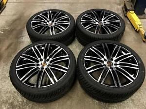 """22"""" Porsche Wheels and All Season Performance Tires (Porsche Cayenne) Calgary Alberta Preview"""