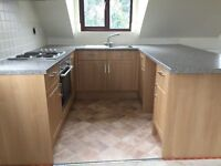 Complete Kitchen(used) units , sink, hob, cooker and extractor hood
