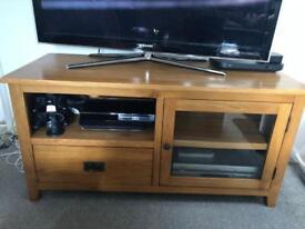 Wooden TV entertainment unit / cabinet