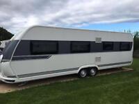 Hobby prestige 7 berth caravan 2014