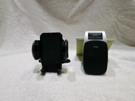 Jabra Bluetooth Car Phone Speakerphone hands free and phone holder for car