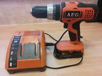 AEG BSB 18G 18V 1.5ah combi cordless drill
