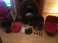 Quinny Mood rumour red travel system