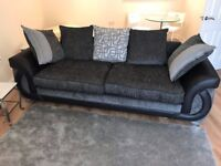 Large 4 seater sofa. Only selling due to relocation and hardly used. As good as new.