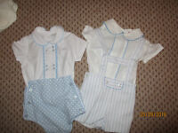 Spanish baby boys suits