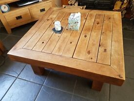 Hand Made Coffee Table (Price reduced)