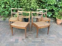 1960s dining chairs vintage
