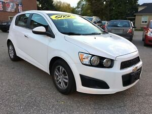 2012 Chevrolet Sonic LOW KMS - SAFETY & E-TESTED - ONE OWNER