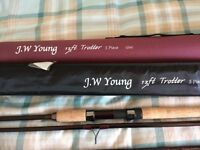 J.W.Young 13' 5 piece Trotter Rod