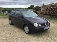 Vw polo 1.2 3 door similar to VW lupo fox golf Ford Fiesta Renault Clio Vauxhall corsa Peugeot 206