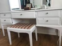 Rare Stag Solid Wood Dressing Table