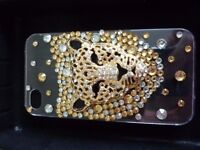 Skinnydip limited edition Iphone 4/4S case, screen protector Tiger Case RP £15 NEW