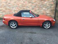 Mazda MX5 Icon 2005 1.8 in Chilli Orange