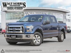 2016 Ford F-150 XLT: ACCIDENT FREE, 4X4, CREWCAB