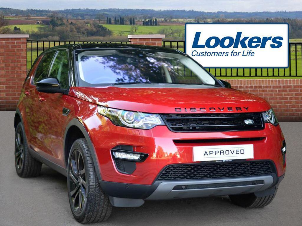 Land Rover Discovery Sport TD4 HSE BLACK (red) 2016-07-29