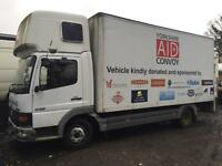 Mercedes atego 815 breaking for spares