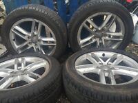 audi q5 3.0 tdi facelift alloy wheel full set with tyres for sale good condition call for parts
