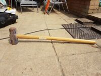 Sledge hammer hickory handle £10