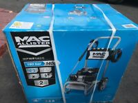MAC ALLISTER pressure washer 180 bar 140cc for sale £200