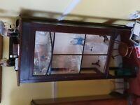 Antique Glass Cabinet