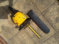 McCulloch petrol hedge cutter and strimmer