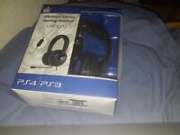 Ps4/3 vibration headset