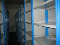 40 bays dexion impex industrial shelving 2.4 meters high ( storage , pallet racking )