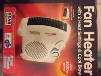 Lloytron Staywarm Upright Fan Heater (NEW)