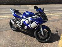 2003 Yamaha YZF R6 low miles 20k