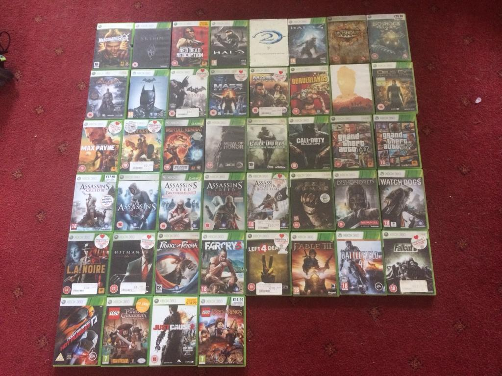 XBOX 360 and 44Games