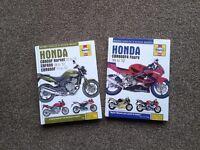 "Honda Motorbike "" Haynes"" Workshop Manuals."