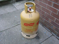 barbecue gas bottle