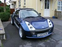 Smart Roadster Bluewave 2003 (Brabus Upgrades)