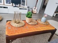 Stunning mahogany vintage reproduction Coffee table