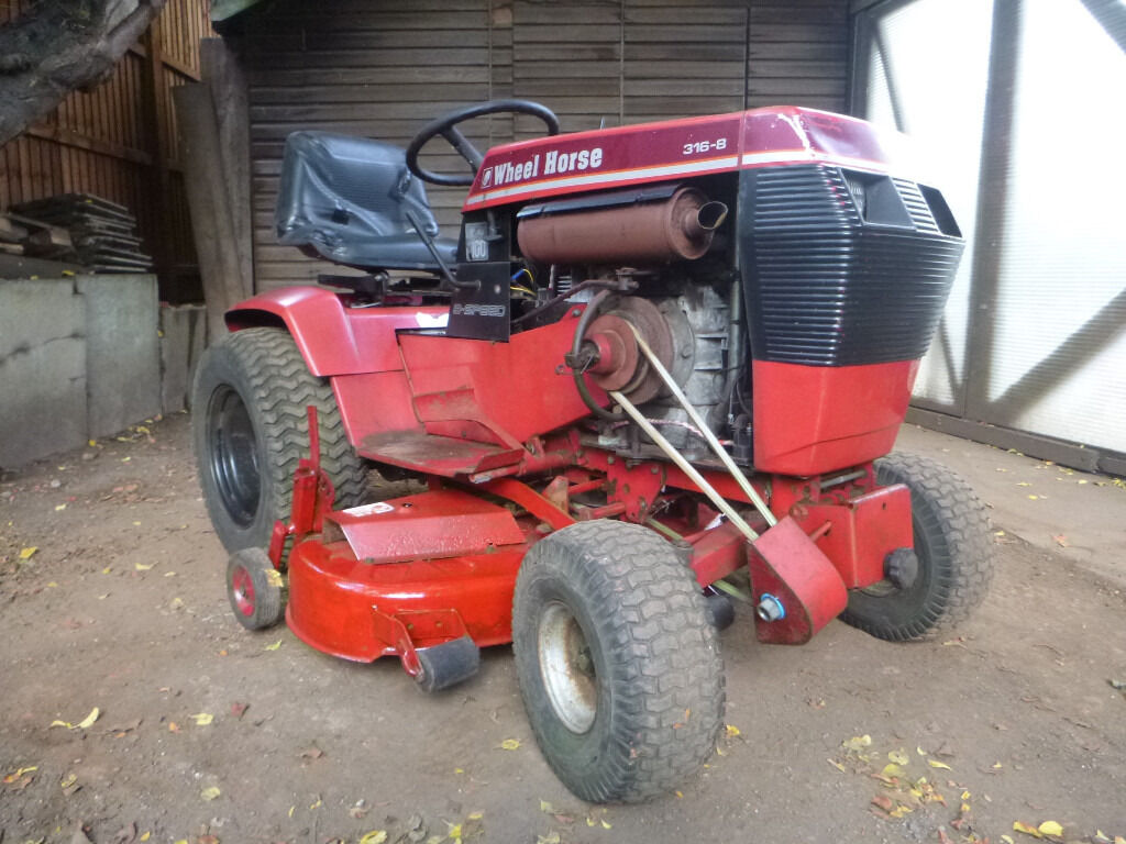 Mini Wheel Horse Tractor : Wheel horse hp compact tractor ride on lawn mower
