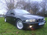 **LOVELY CONDITION 2002 BMW 520i SE(MANUAL)FULLY LOADED,SERVICE HISTORY 9 STAMPS,1 YEAR MOT DEC 2017