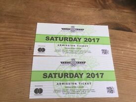 2 x Saturday Festival of Speed tickets