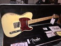 USA Fender Telebration Roadworn Relic. Rare Anniversary guitar vintage look