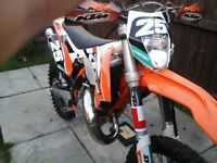Ktm 125 exc 2015 on 64 plate