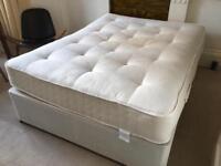King bed & mattress. 4-drawer divan. MUST GO THIS WEEK!