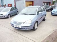 Suzuki Liana GLX 5dr (blue) 2002
