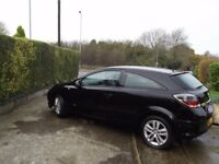 2007 Vauxhall Astra 1.4 SXi 3 door, cheap tax & insurance.sporty looking in black