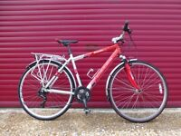 Carrera Crossfire Gents Hybrid Road Bike Town Bicycle Excellent