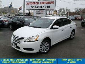 2014 Nissan Sentra Prl White B.tooth/All Power&GPS*