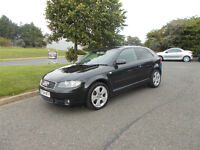 AUDI A3 SPORT 2.0 TDI DIESEL 6 SPEED NEW SHAPE BLACK 2004 BARGAIN ONLY 2250 *LOOK* PX/DELIVERY