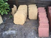 Garden slabs and driveway slabs