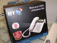 BT Decor 2600 Advanced Call Blocker Corded Telephone